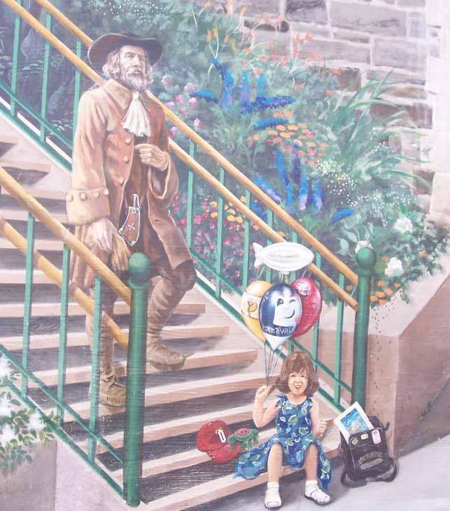 Fresques murales de l 39 arrondissement de la cit qu bec for Types de peintures murales