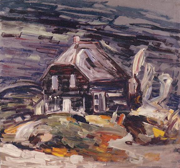 Galerie clarence gagnon archives la corniche art gallery for A la chouette maison baie st paul