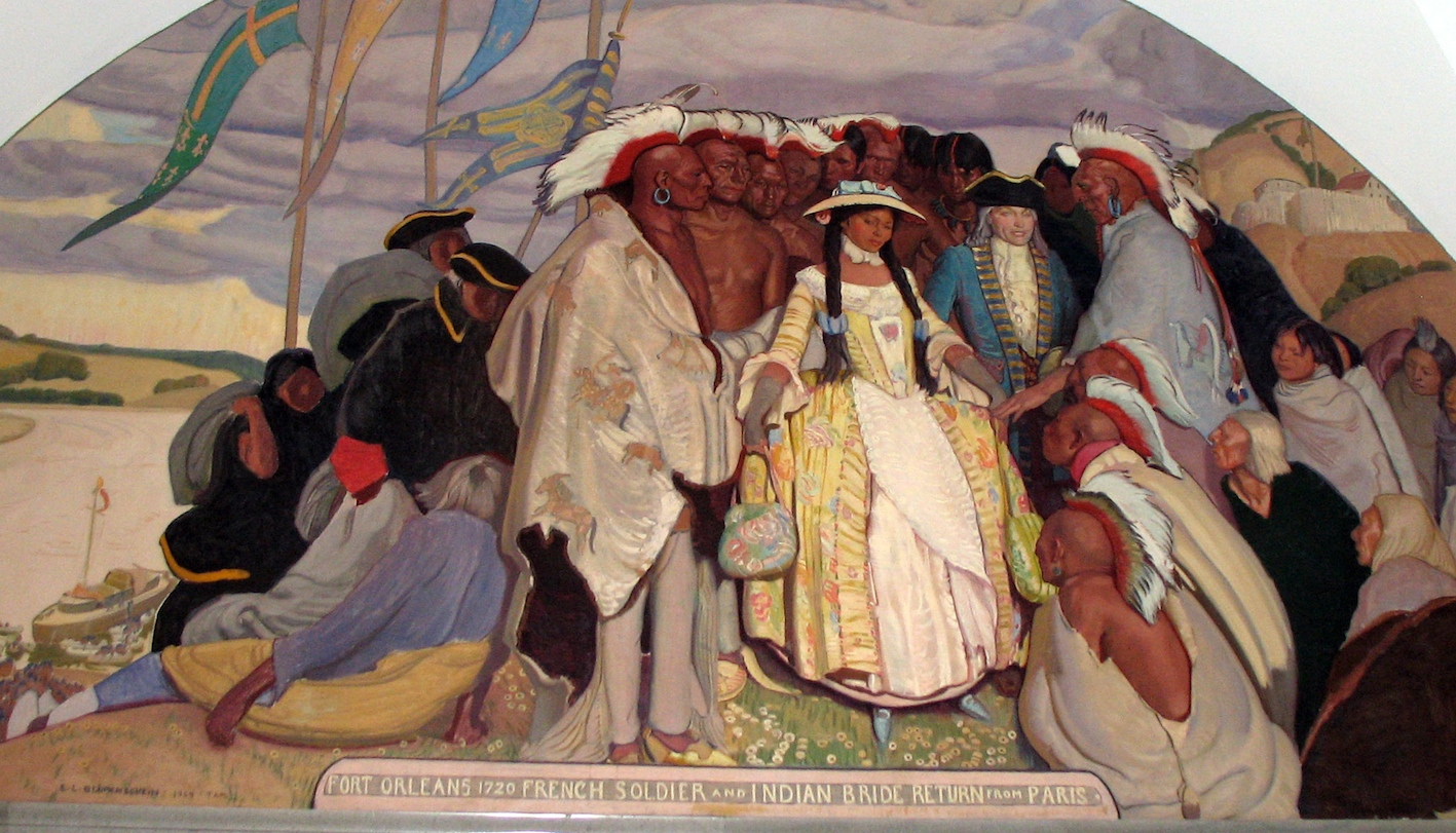 Native american marriage rites