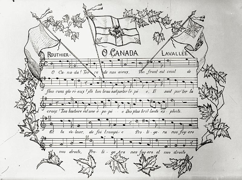 parole chanson o canada