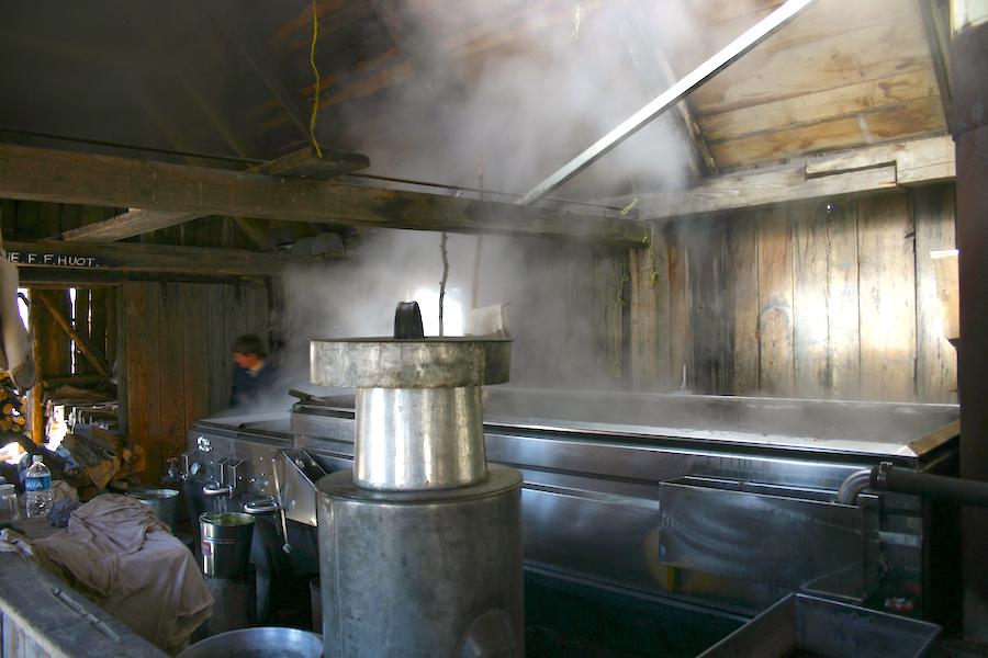 Fabrication du sirop de sucre