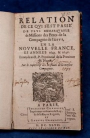A volume from the P.-J.-Olivier Chauveau Collection
