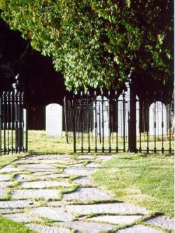 The Protestant cemetery © Parks Canada