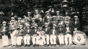 La fanfare c. 1939 © Centre acadien, Université Sainte-Anne