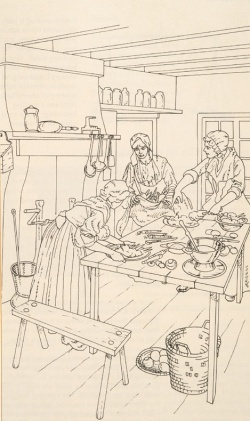 At an early age girls are taught how to cook. Traditional recipes are hence passed from generation to generation. © University College of Cape Breton Press Inc.
