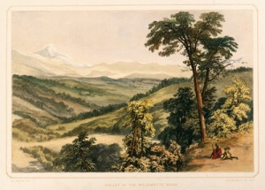Valley of the Willamette River, Oregon Historical Society.