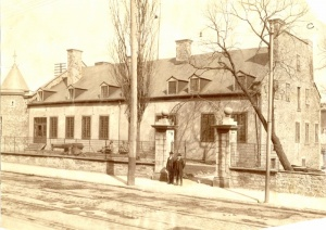 The Château Ramezay Museum, about 1903