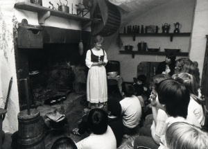 Guided tour (Common Room) in 1983