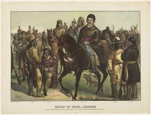 Rebel Leaders in Western Canada