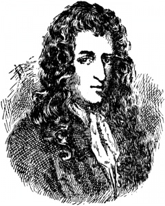 (1643-1687) French explorer in America who named Louisiana after Louis XIV.