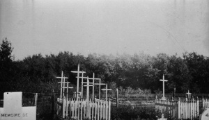 Graves of Métis Killed during the Battle of Batoche