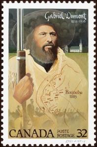 Gabriel Dumont, 1838-1906 Batoche, 1885