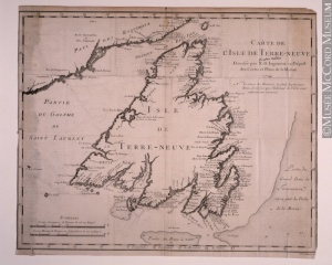 Map of the Island of Newfoundland, 1744