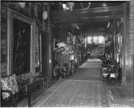Hall way, Van Horne Residence, Montreal, QC, 1920