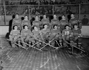 Montreal Canadiens, October, 1942