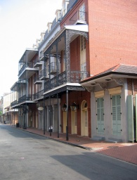 View of the French Quarters in New Orleans © Roy Tennant 2009