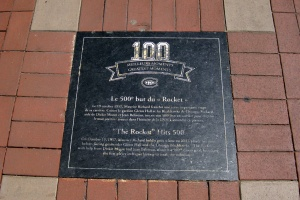 Place du Centenaire - 100 Meilleurs Moments - Le 500e but du Rocket