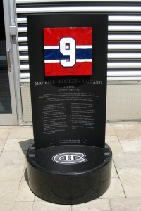 Centennial Plaza – Retired jersey numbers – Maurice Richard