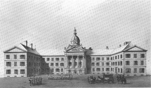 First Parliament, front view
