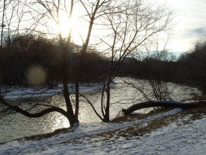 The Humber River, February 2006