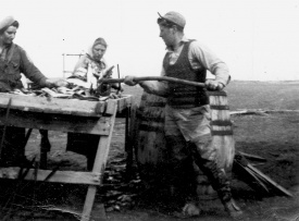 Stringing Herring