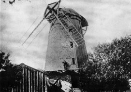 Le moulin Fleming du Bas-Lachine vers 1880