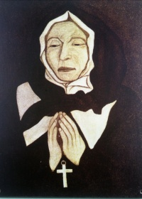 Portrait of Marguerite Bourgeoys, 1700