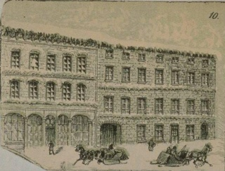 L'Hôtel Empire en 1885