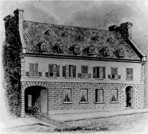 Papineau House as pictured by R. C. Lyman