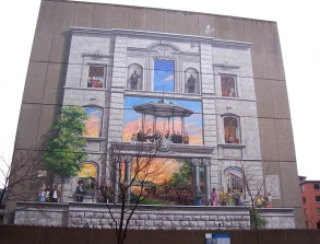 La Fresque BMO de la capitale nationale du Québec