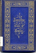 Couverture d'Evangeline, A Tale of Acadie, 6e édition
