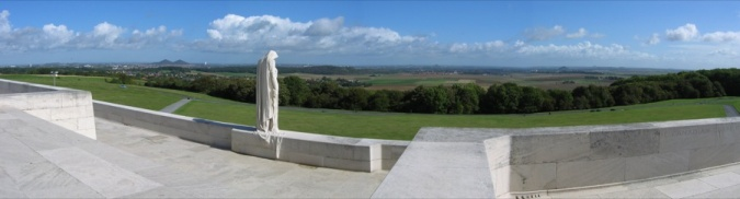 Vimy Memorial and the Douai Plain, 2004