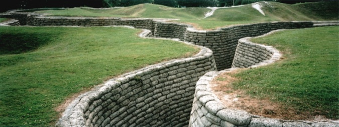 Trench at Vimy Ridge, 2006