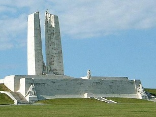 General view of the Canadian National Vimy Memorial, 2006