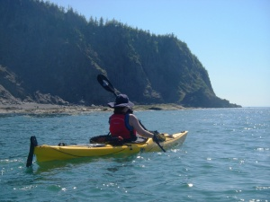 Kayaking in Parc du Bic