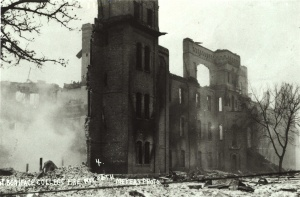 The 1922 fire (ruins)