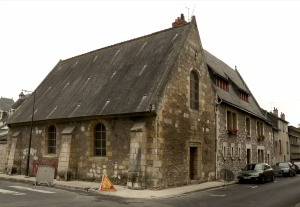 The Saint-Michel chapel, housing the Marie de l'Incarnation museum, in 2008