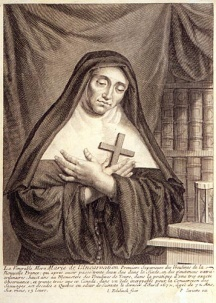 Portrait of Marie de l'Incarnation