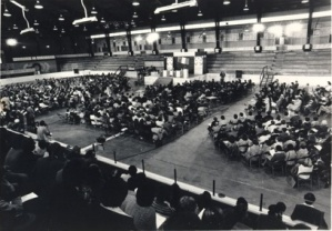 Convention d'orientation nationale des Acadiens, Edmundston, N.-B., 1979.