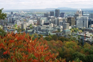 The city of Montreal viewed from Mount Royal, 2006