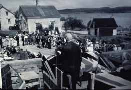 The official opening in July 1941