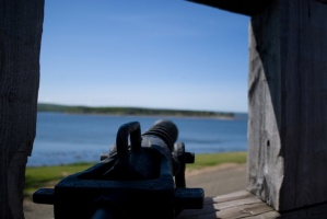 A cannon at the Port-Royal Habitation