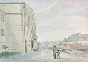 Quebec City Common Gaol, around 1830