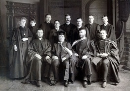 Morrin College students, c1891
