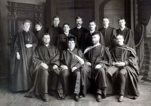 Étudiants au Morrin College vers 1891