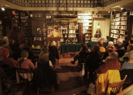 Public reading of George Elliott Clarke's works at the library of the Literary and Historical Society of Quebec, 2007