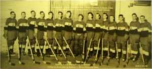 The college hockey team (1947)