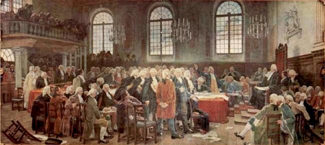 Le débat sur les langues: séance de l'Assemblée législative du Bas-Canada le 21 janvier 1793