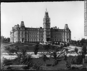 Parliament Building, Quebec City, QC, circa 1890
