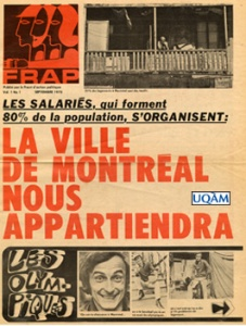 Journal FRAP,  septembre 1970